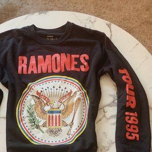 Forever21 Ramones black Sweatshirt